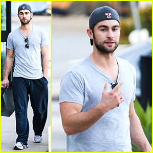 Chace Crawford: I Play Dianna Agron's Douchey Boyfriend on Glee's 100th Episode!