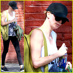 Charlize Theron Has Low Key Gym Day After Her Date Night