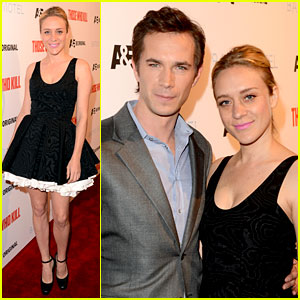 Chloe Sevigny & James D'Arcy: 'Those Who Kill' Premiere Party!