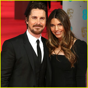 Christian Bale & Wife Sibi Blazic - BAFTAs 2014 Red Carpet