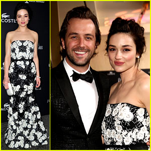 Crystal Reed & Boyfriend Darren McMullen: Red Carpet Debut!