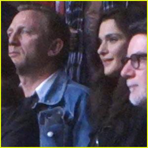 Daniel Craig & Rachel Weisz: Date Night at Amnesty International Concert