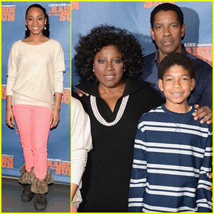 Denzel Washington: 'Raisin In The Sun' Press Conference!