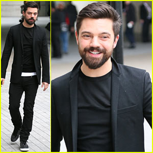 Dominic Cooper Exposed Himself in Public - By Accident!
