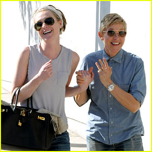 Ellen DeGeneres U0026 Portia De Rossi Were The Cutest Couple On Valentineu0027s Day!