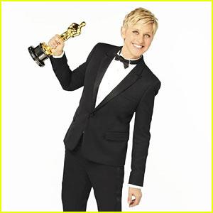 Ellen DeGeneres Suits Up In Saint Laurent - Oscars Preview!