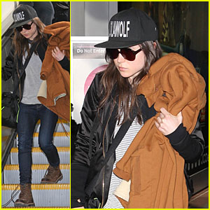 Ellen Page Steps Out After Coming Out as Gay!