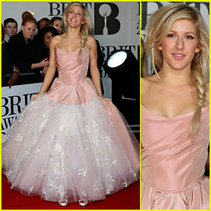 Ellie Goulding - BRIT Awards 2014 Red Carpet