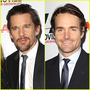 Ethan Hawke & Will Forte Honor AARP's Movies for Grownups!