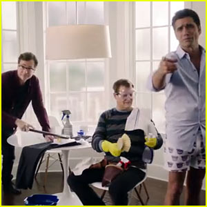 'Full House' Guys: Dannon Oikos Super Bowl Commercial 2014!