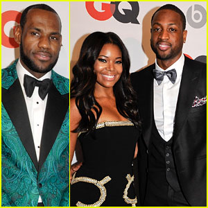 Gabrielle Union & Dwyane Wade: GQ NBA All-Star Party with LeBron James