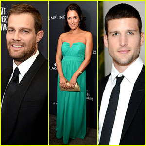 Geoff Stults & Parker Young: 'Enlisted' at CDG Awards 2014!