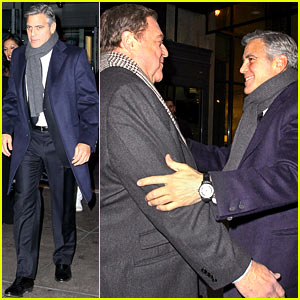 George Clooney: There's No Feud with Leonardo DiCaprio!
