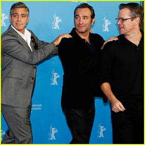 George Clooney & 'Monuments Men' Cast Conga at Berlinale!