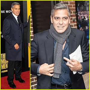 George Clooney: 'Monuments Men' NYC Premiere!