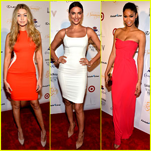 Gigi Hadid, Irina Shayk, & Chanel Iman: Club SI Party in Miami!
