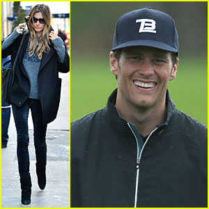 Gisele Bundchen Grabs NYC Lunch, Tom Brady Golfs at Pebble Beach Pro-Am