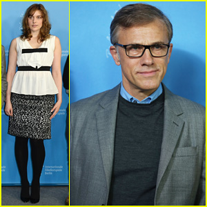 Greta Gerwig & Christoph Waltz: Berlinale Film Festival 2014 Jury Photo Call