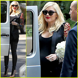 Gwen Stefani Throws Star-Studded Baby Shower in L.A.!
