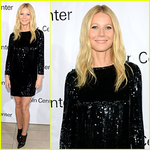 Gwyneth Paltrow Sparkles at  the Great American Songbook Event!