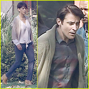 Halle Berry Spends Valentine's Day Filming 'Extant' with Goran Visnjic!