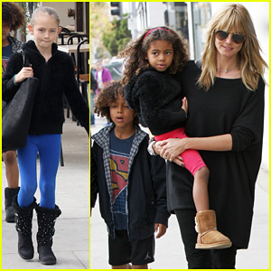 Heidi Klum: Sunday Lunch with the Kids!
