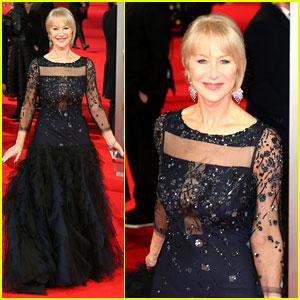 Helen Mirren - BAFTAs 2014 Red Carpet