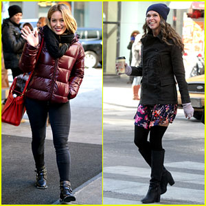 Hilary Duff & Sutton Foster Work on TV Land Pilot 'Younger'!