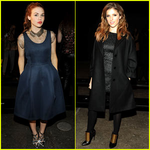 Holland Roden & Anna Kendrick Get Front Row View at Philosophy By Natalie Ratabesi Show