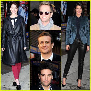 'How I Met Your Mother' Cast Reads Letterman's Top 10! (Video)
