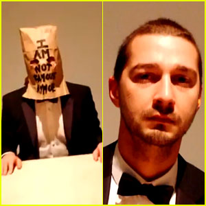 Inside Shia LaBeouf's #IAMSORRY Exhibit - Watch Video Here!