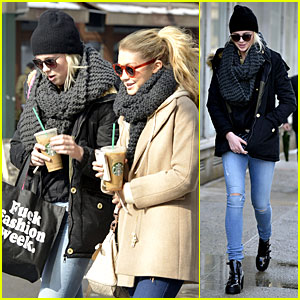 Ireland Baldwin Hangs with Gigi Hadid on Valentine's Day!