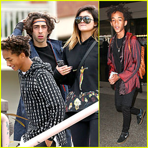 Jaden Smith & Kylie Jenner Express Love for Each Other on Twitter!