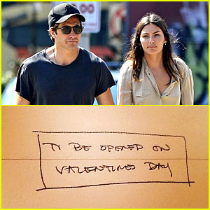 Jake Gyllenhaal & Alyssa Miller Back Together: See His Valentine's Day Card to Her!