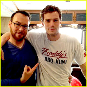 Jamie Dornan: 'Fifty Shades' Meets 'House of Cards' in New Pic!