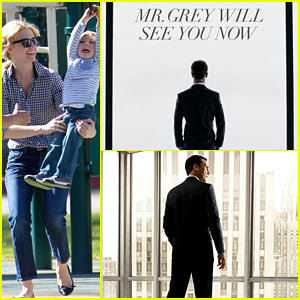 January Jones Questions Similarities Between 'Fifty Shades of Grey' & 'Mad Men' Posters