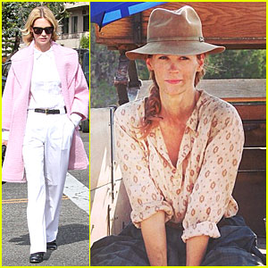 January Jones Gets Dirty For the Art of Acting!