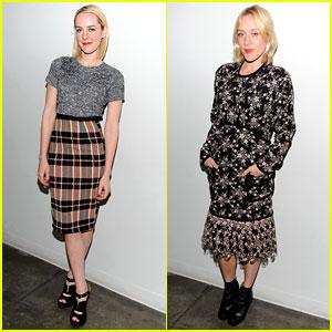 Jena Malone & Chloe Sevigny: 'The Wait' Screening!