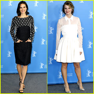 Jennifer Connelly & Melanie Laurent Promote 'Aloft' in Berlin