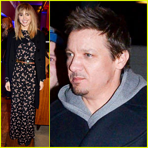 Jeremy Renner & Suki Waterhouse: 'RoboCop' After Party!