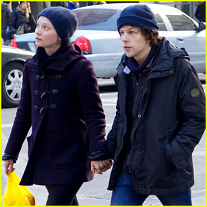 Jesse Eisenberg Steps Out with Mia Wasikowska After Lex Luthor Casting News