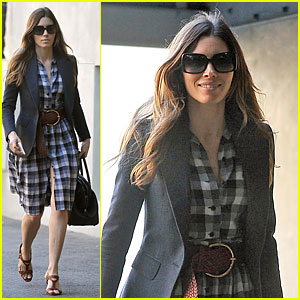 Jessica Biel: My Restaurant Au Fudge Will Open Soon!