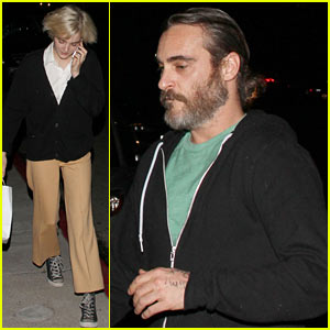 Joaquin Phoenix & Allie Teilz: Date Night at Crossroads!
