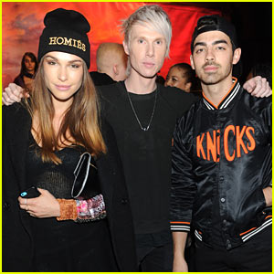Joe Jonas & Blanda Eggenschwiler: Brian Lichtenberg Fashion Show