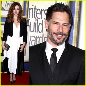 Joe Manganiello & Amber Tamblyn: Writers Guild Awards 2014!