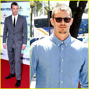 Joel Kinnaman Suits Up for 'RoboCop' Premiere in Rio!