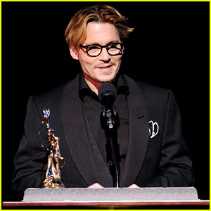 Johnny Depp: Make-Up Artists & Hair Stylists Guild Award Recepient 2014