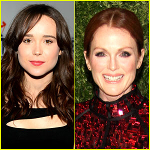 Julianne Moore & Ellen Page: Lesbian Couple in 'Freeheld'!