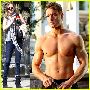 Justin Hartley Goes Shirtless Sexy in New 'Revenge' Stills!