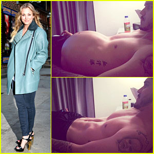 Kaley Cuoco's Husband Bares His Belly Before & After Pooping!